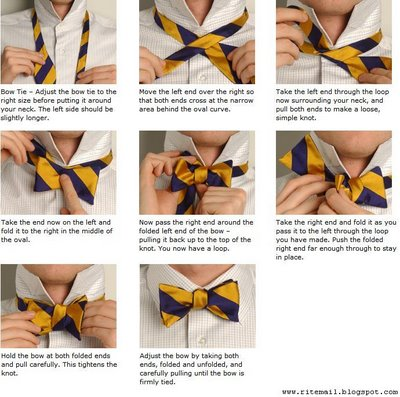 Bscs home page making bow tie knot ccuart Image collections