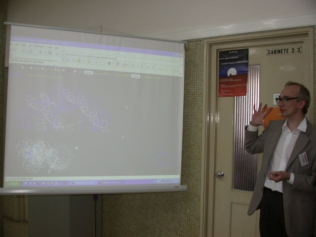 Picture from Sara Silva of wbl with pfiffer demo running under mozilla